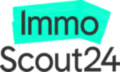 Logo ImmoScout24 mit Textur